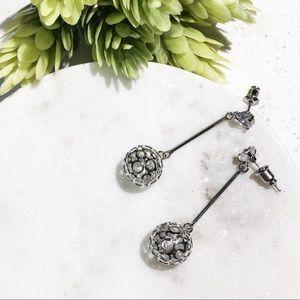 JUST IN!✨Geomatic Crystal Drop Earrings